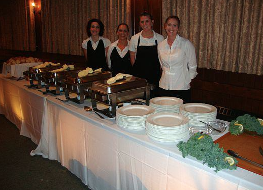 Quinet's Catering Staff